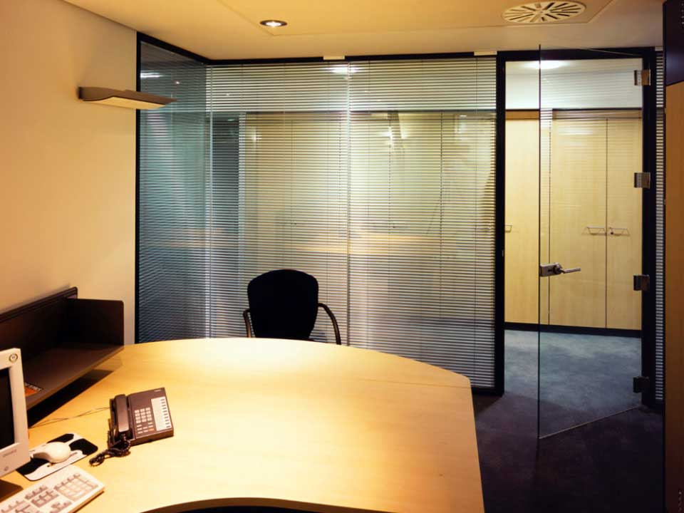 Commercial Interior Sliding Glass Doors glass office doors & partition walls